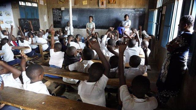 Clase en República Democrática del Congo
