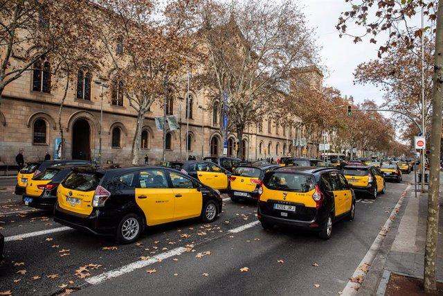 Taxis a Barcelona