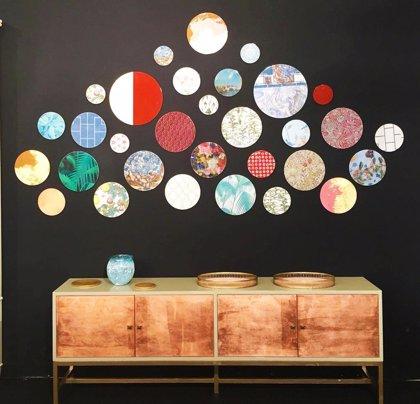 Muebles y accesorios de profesionales con discapacidad intelectual, en la feria del mueble y el diseño de París