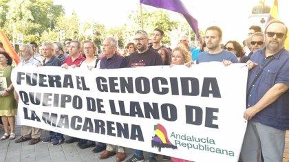Ayuntamiento de Sevilla analizará hacer un catálogo de restos franquistas tras la petición de Andalucía Republicana