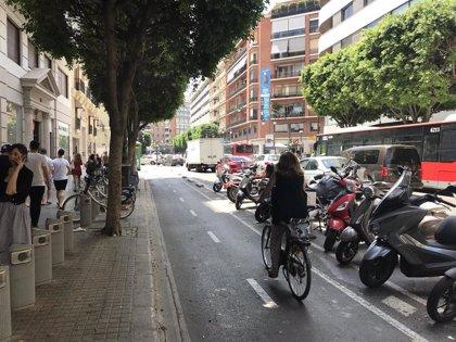 """Ribó ve """"imposible"""" peatonalizar la calle Colón de València pero dice que se estudiará ganar espacio para viandantes"""