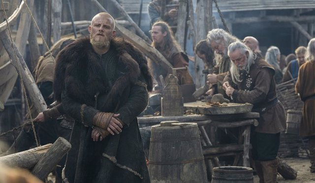 Imagen de la última temporada de Vikings (Vikingos)