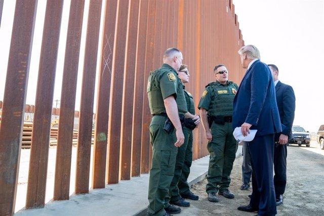 Visita de Donald Trump a la frontera con México