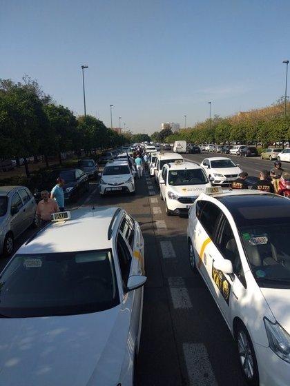 """Élite Taxi Sevilla avisa de """"trabas"""" municipales para las denuncias contra los VTC y reclama """"medidas"""" de """"agilización"""""""