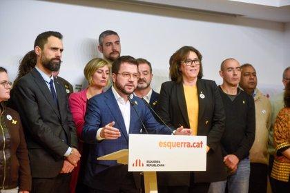 """ERC pide a Sassoli proteger la inmunidad de Junqueras y ve un """"Brexit judicial"""" del Estado"""