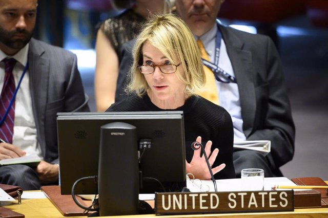 La representante de Estados Unidos ante Naciones Unidas, Kelly Craft