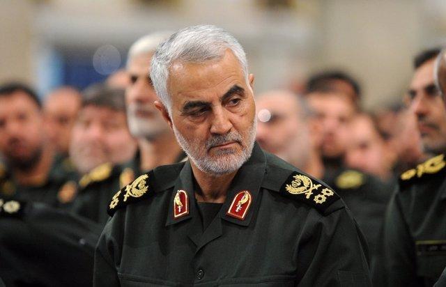 El general Qasem Soleimani, jefe de la Fuerza Quds de la Guardia Revolucionaria de Irán