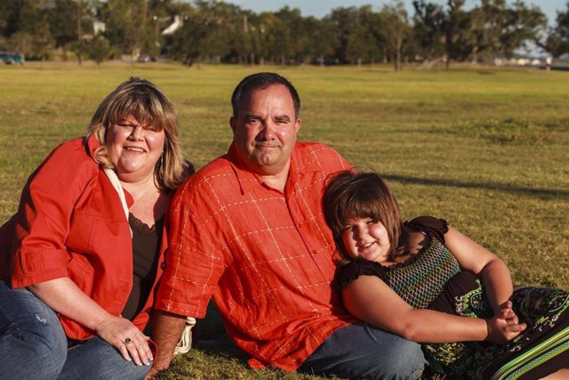 Familia con obesidad