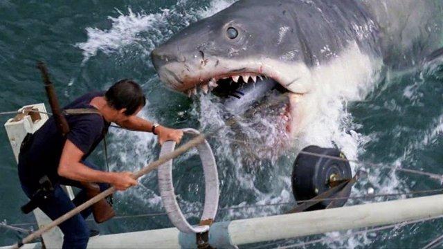 Imagen de Tiburon de Steven Spielberg