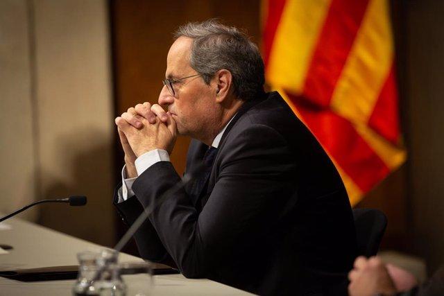 Intervenció del president Quim Torra Durant l'entrega dels Premis de Turisme de Catalunya, a Barcelona a 9 de gener de 2020