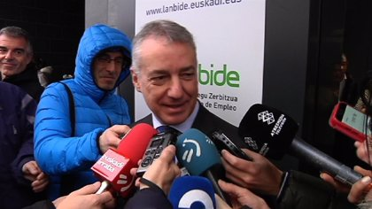 "Urkullu no confirma si volverá a ser candidato a lehendakari pero subraya que está ""al servicio"" del PNV"