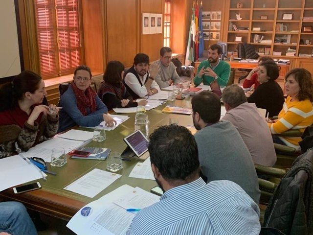Reunión en Valencia de Alcántara