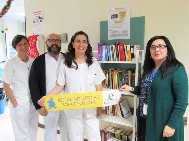 El Hospital de Poniente se une a la red estatal de bibliotecas para pacientes