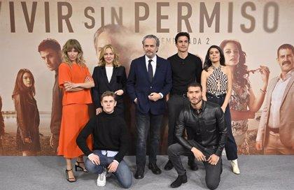 """'Vivir sin permiso' vuelve este lunes a Telecinco con una 2ª temporada que es """"puro músculo"""""""