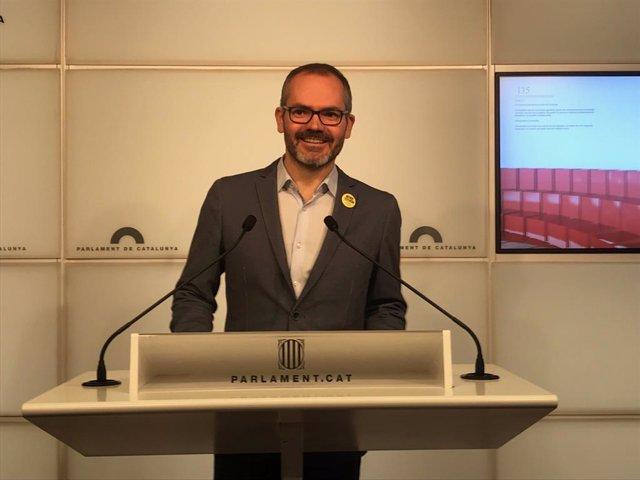 El vicepresident del Parlament i diputat de JxCat Josep Costa.