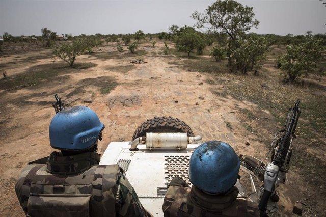 Efectivos de la Misión de la ONU en Malí (MINUSMA)