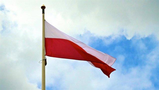 Bandera de Polonia.