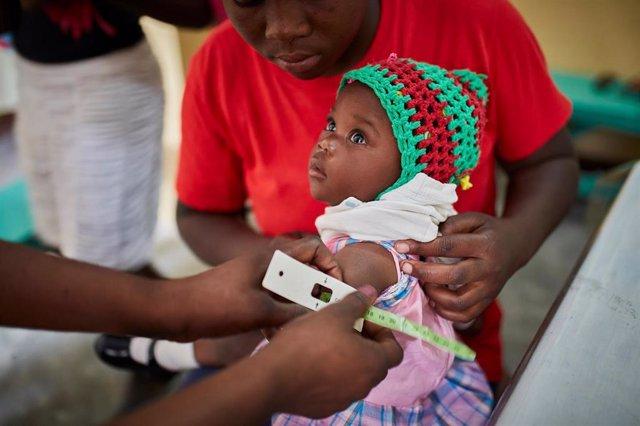 Campaña contra la desnutrición de Acción contra el Hambre en Haití