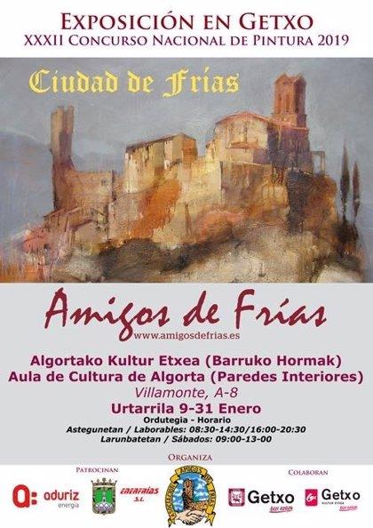 Getxo (Bizkaia) acoge una selección de obras del Concurso Nacional de Pintura de Frías (Burgos)