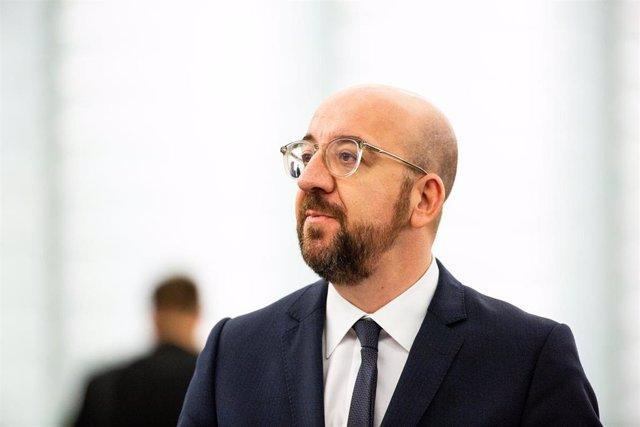Presidente del Consejo Europeo, Charles Michel