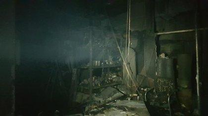 Desalojadas 48 personas de un balneario de Trillo por un incendio en el cuarto de calderas