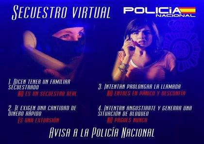 La Policía evita que una madre pague 10.000 euros por el falso rescate de su hija en un nuevo caso de secuestro virtual
