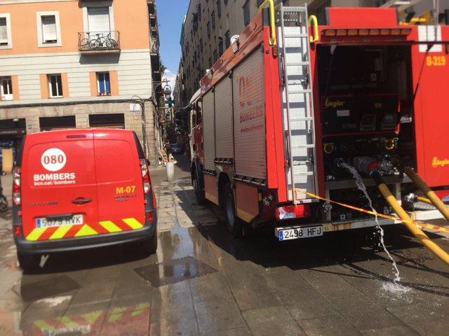 Camió dels Bombers de Barcelona (recurs)