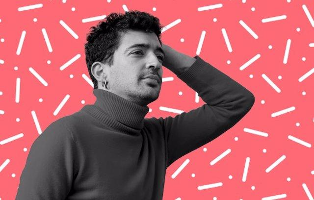 El cantautor murciano Paskual Kantero, 'Muerdo'