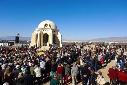 Miles de romeros acuden este domingo a Torregarcía (Almería) por el 517 aniversario de la Virgen del Mar
