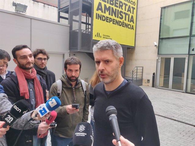 L'advocat d'Oriol Junqueras, Andreu van den Eynde, en una foto d'arxiu.