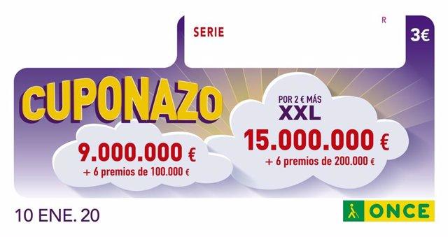 El Cuponazo De La Once Deja 275.000 Euros En Marbella