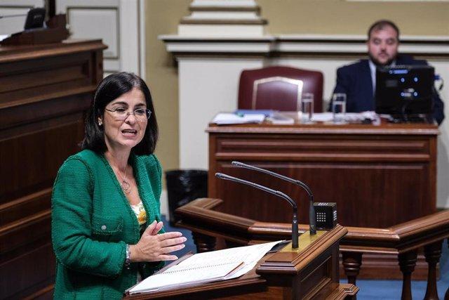 Carolina Darias, consejera de Economía, Conocimiento y Empleo del Gobierno de Canarias