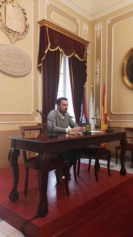 Martín Vila, teniente de alcalde de Ayuntamiento de Cádiz