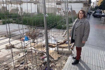 El PSOE critica al alcalde de Málaga el abandono del barrio de Lagunillas