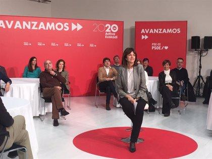 """Mendia defiende que la """"concordia entre todas las personas y territorios"""" va a ser la """"seña de identidad"""" del PSOE"""