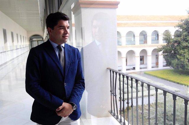 El Diputado De Ciudadanos Por Jaén En El Parlamento De Andalucía Enrique Moreno