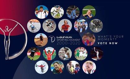Ya puedes elegir al ganador del Laureus Sporting Moment 2000-2020