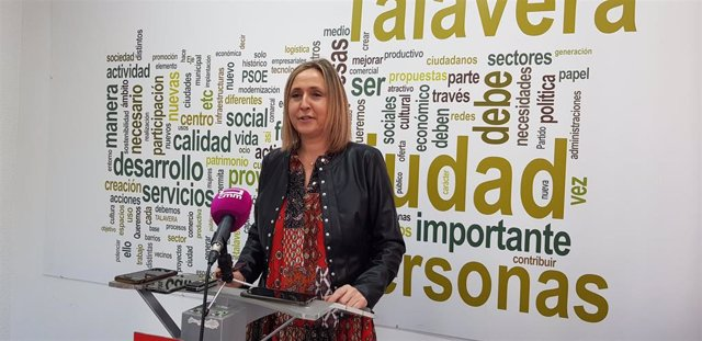 La secretaria de Igualdad de la Ejecutiva Regional del PSOE de Castilla-La Mancha, Montserrat Muro.