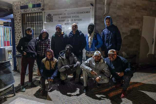 Migrantes en Melilla