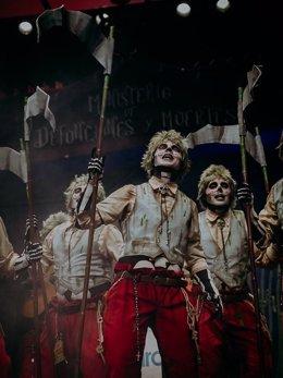Al Maridi, ganadores del Concurso de Murgas del Carnaval de Badajoz 2019