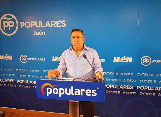 El secretario general del PP de Jaén, Francisco Palacios, en una imagen de archivo