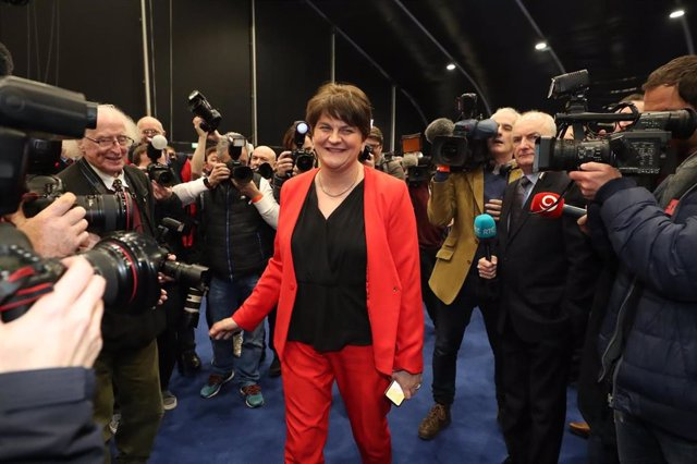 Arlene Foster, ministra principal de Irlanda del Norte