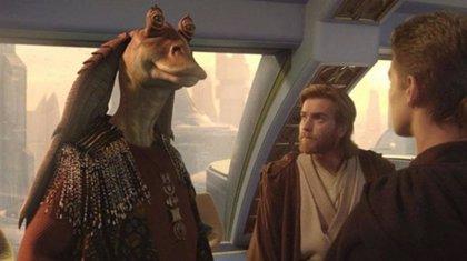 Jar Jar Binks amenaza con volver a Star Wars en la serie de Obi Wan