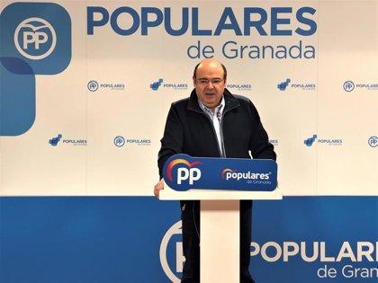 """PP de Granada presentará mociones para que los socialistas """"se retraten"""" sobre el """"pacto de la vergüenza"""" de Sánchez"""