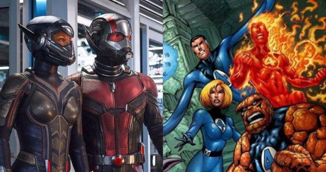 Ant-Man y Los cuatro fantásticos
