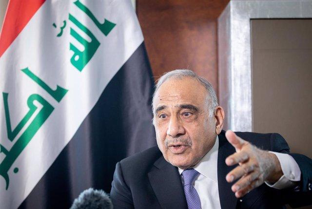 El primer ministre en funcions de l'Iraq, Adil Abdul-Mahdi
