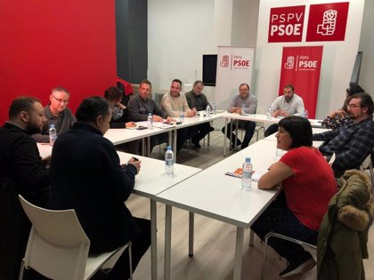 """El PSPV se posiciona """"en la línea de continuar con el Acord de Fadrell tras una reunión """"provechosa"""""""