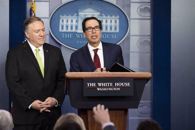 El secretario del Tesoro de EEUU, Steven Mnuchin