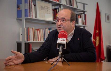 """Iceta avisa de que """"sin PGE no habrá Gobierno"""" porque no se lo puede permitir"""