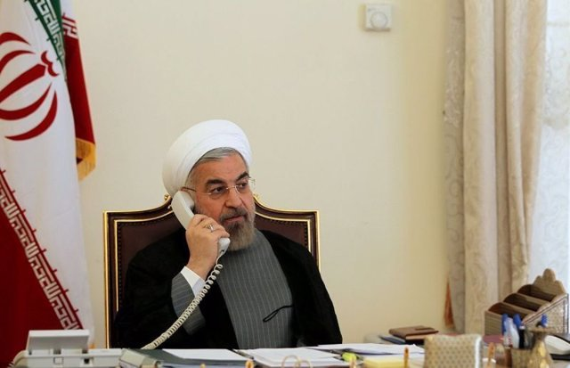 Irán.- Rohani asegura a Zelenski que los responsables del derribo del avión será